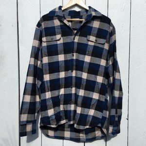 VTG Jachs Blue Checkered Hiking Flannel